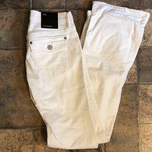 NWT Banana Republic white jeans